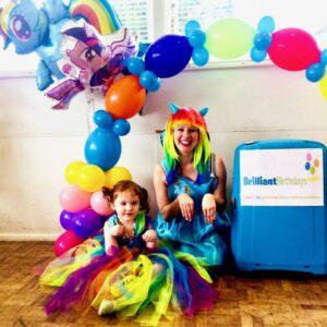 Rainbow Pony Party Fun