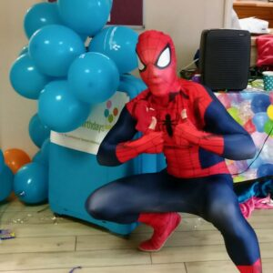 Spiderman Lookalike Kids Entertainer