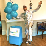 Spaceman Kid's Birthday Party