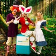 White Rabbit Alice In Wonderland Children's Party London