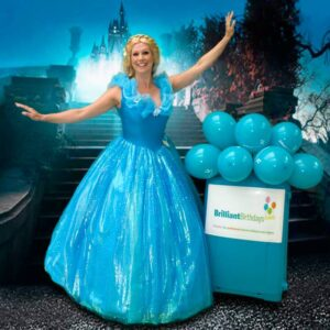 Cinderella Lookalike Party. Children's Entertainer London