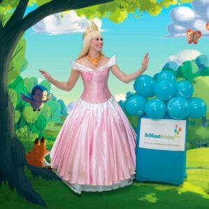 Princess Aurora Kid's Party London