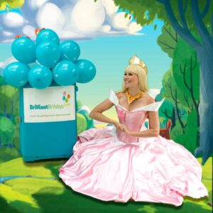 Princess Aurora Lookalike Party Princess Aurora Children's Entertainer London
