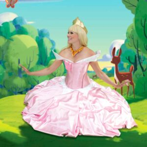 Princess Aurora Themed Party Entertainers