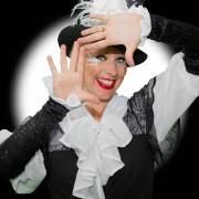 Black and White Clown Themed Party Entertainer London