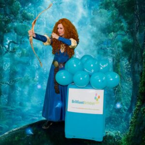 Princess Merida Lookalike Party Princess Merida Themed Party Entertainment