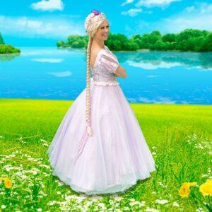 Rapunzel Themed Party Entertainer London