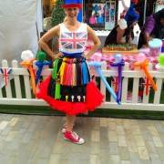 British Themed Balloon Modelling