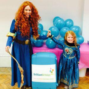 Princess Merida Themed Party Entertainer London