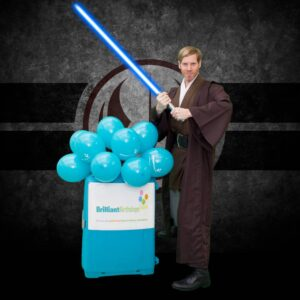 Star Force Jedi Themed Party Entertainment