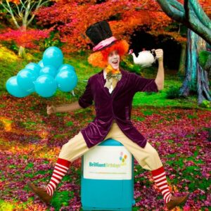 Mad Hatter Themed Party Entertainer London