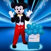 Mickey Mascot Children's Party London