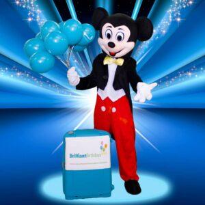 Mickey Mascot Kid's Entertainer London