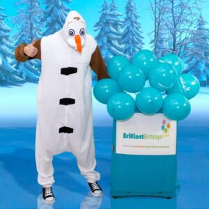 Olaf Frozen Themed Party Entertainer London
