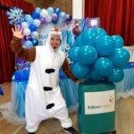 Olaf Lookalike Frozen Party Host London