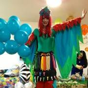 Parrot Balloon Modelling Entertainenment