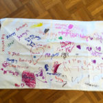 Decorated Pillow case for the birthday girl