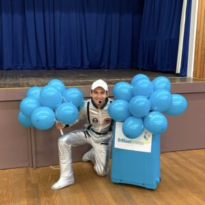 Spaceman Childrens Party Host London