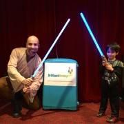 Jedi Star Wars Kid's Party London