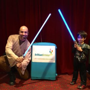 Jedi Star Wars Kid's Party London
