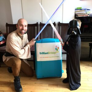 Star Wars Jedi Themed Kids Party