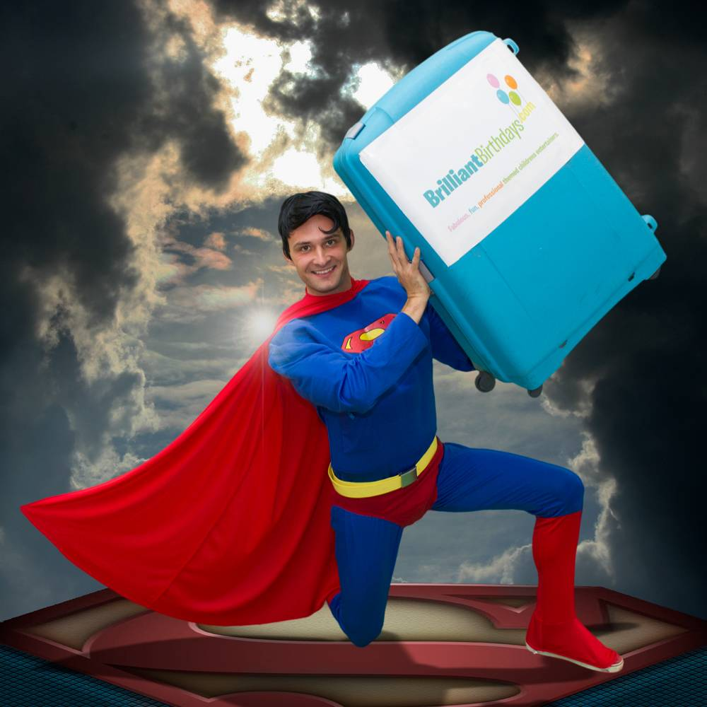 Superman Themed Party Entertainer London