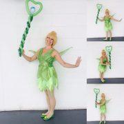 Tinkerbell Lookalike Balloon Modelling