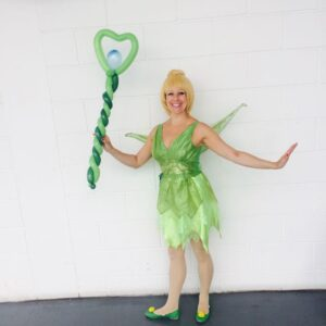 Tinkerbell Party Balloon Modelling Entertainment