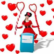 Valentines Day Balloon Modeller