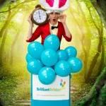 White Rabbit Wonderland Party! White Rabbit Alice In Wonderland Children's Entertainer London