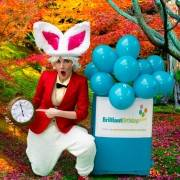 White Rabbit Alice In Wonderland Event Entertainment