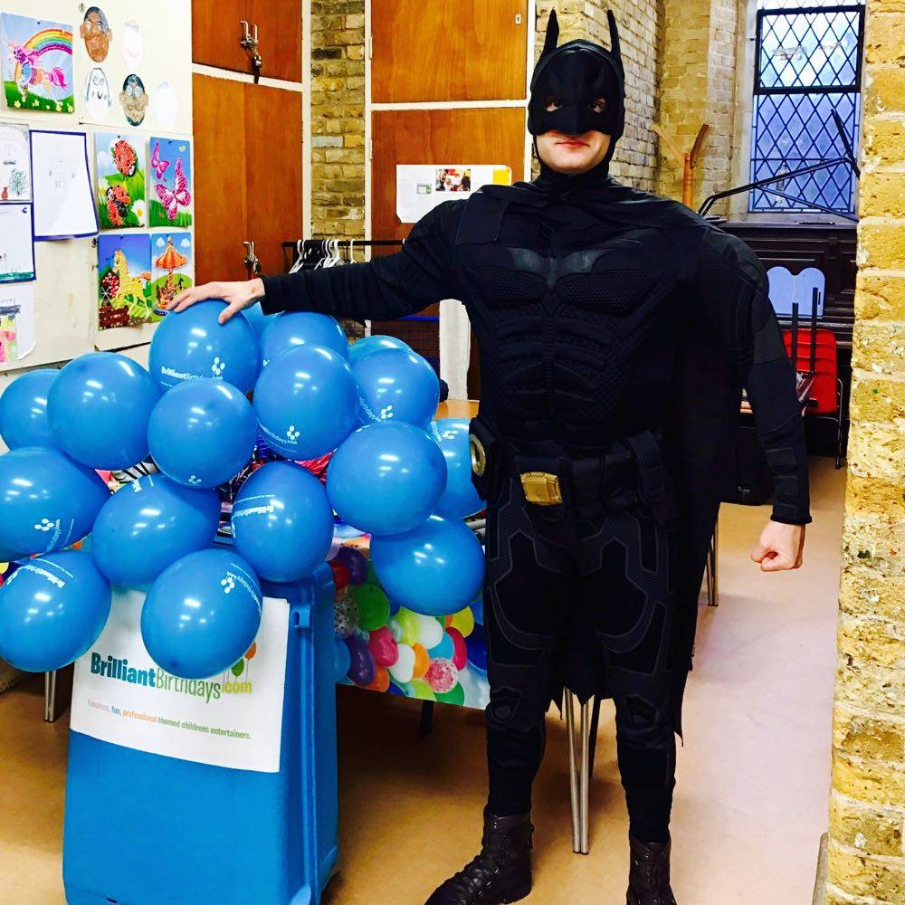 Batman Lookalike Party Brilliant Birthdays