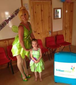 Tinker bell Kid's Party London