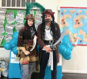 Perilous Pirate Duo Party Entertainers