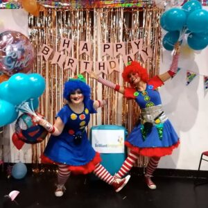 Clumsy Clown Duo Party