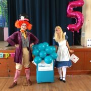 Wonderland Party Fun with Alice & The Mad Hatter
