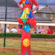 Stiltwalking Clown Children's Entertainer London