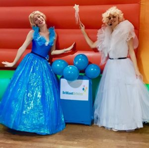 Cinderella & Godmother Kid's Party Entertainment