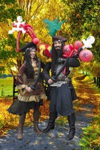 The Perilous Pirate Balloon Modellers