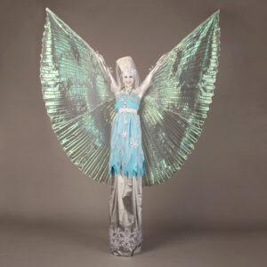 Ice Queen Stiltwalking Entertainer