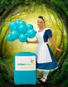 Alice In Wonderland Childrens Party