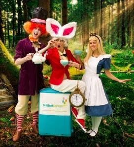 White Rabbit Alice In Wonderland Kid's Party London