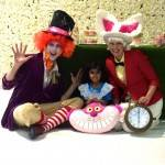 Alice & Mad Hatter Party Entertainment