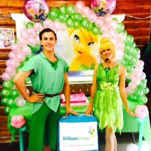 Peter & Tink Lookalike Children's Party Entertainers