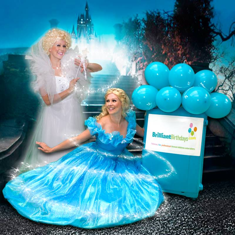 Cinderella & Her Fairy Godmother Lookalike Party