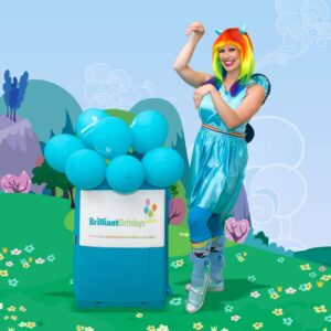 Rainbow Pony Party Rainbow Dash Themed Party Entertainer London