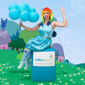 Rainbow Dash Themed Kids Party