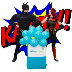Batman-&-Batwoman Party