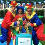 Clumsy Clown Trio Party