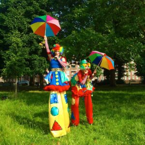 Amazing Stilt Walking Performers in London